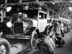 Sistemas de distribución: Tienda de recambios de coches
