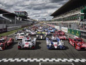 Espectáculo de 24h Le Mans 2015