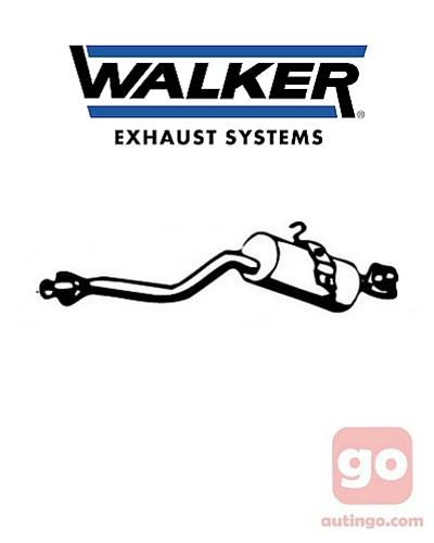 Silenciador del medio Walker