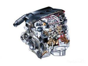 El Kompressor del motor Mercedes